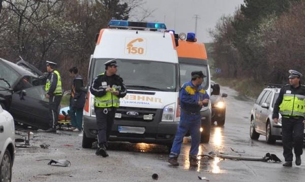 Шофьор загина при катастрофа край шуменско село