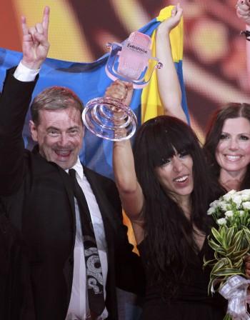 Лорийн спечели Евровизия за Швеция