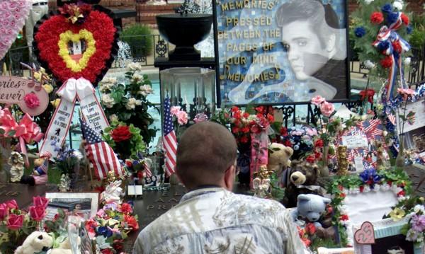Гробът на Елвис на търг!
