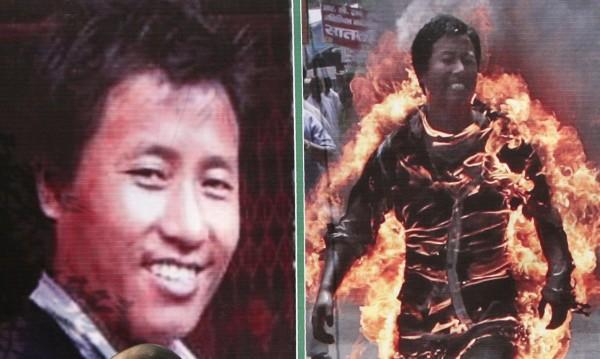 Майка на три деца e поредната жертва на самозапалване в Тибет