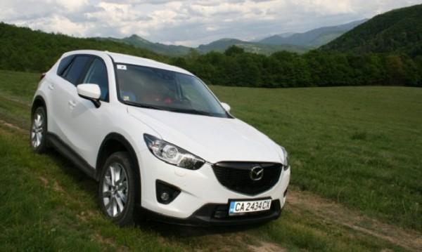 Mazda CX-5 казва НЕ на електричеството