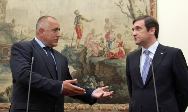 Борисов се възхищава на португалските магистрали