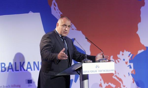 Борисов към Македония: За нашата добрина ни изкарахте хитлеристи!