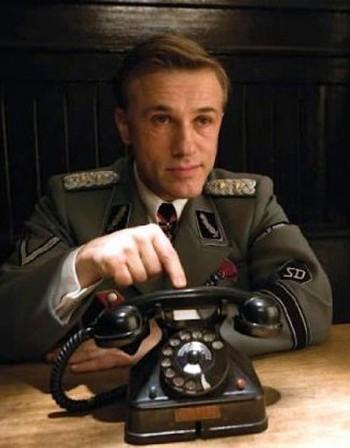 Любимият нацист Кристофър Валц в новия филм на Гилиъм