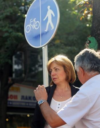 """Велоалеите -  алтернатива на """"синята зона"""""""