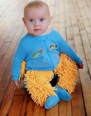 Да облечеш бебето си в бърсалка
