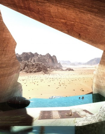 В тон с пустинята