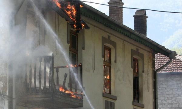 Двама мъже изгоряха при пожар  в Етрополе