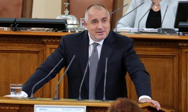 Борисов четял SMS-и от министри на церемонията за Нобеловата награда