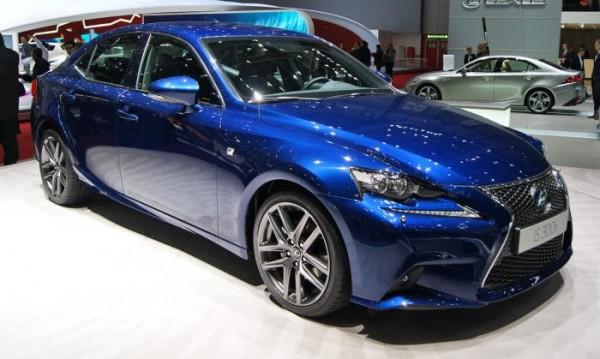 Европейска премиера за Lexus IS