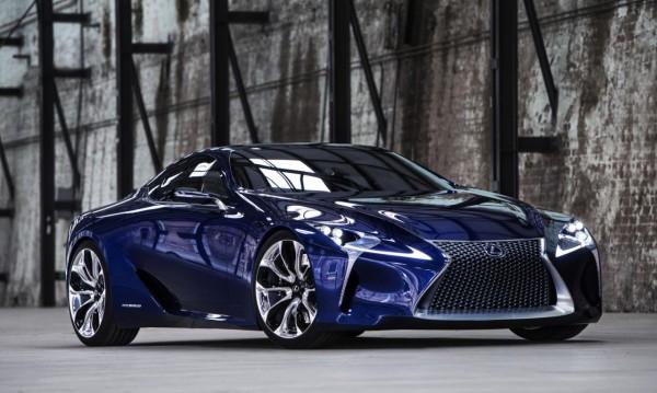 Зелена светлина за Lexus LF-LC