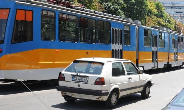"""""""Мария Луиза"""" - пешеходна, трамваите - извън центъра"""