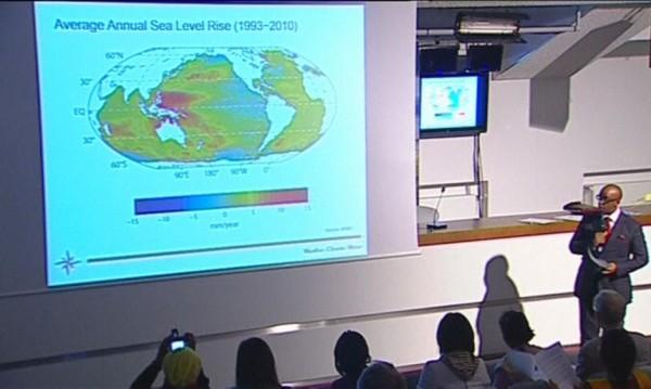 2013 г. e седмата поред най-топла година от 1850 г. насам