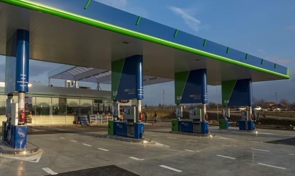 """Факт е първата бензиностанция в новия участък на """"Тракия"""""""