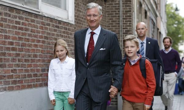 Белгийският крал иска охрана за четирите си деца