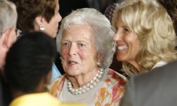 Изписаха от болницата Барбара Буш