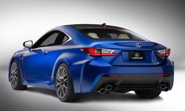 Lexus напълно разкри купето RC F
