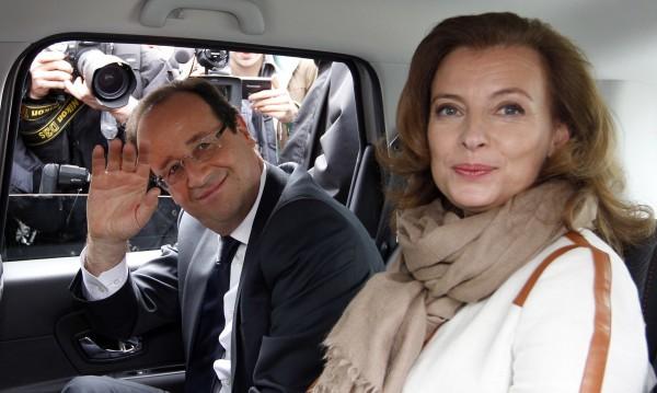 Френската първа дама в болница след публикацията за любовна афера на Оланд