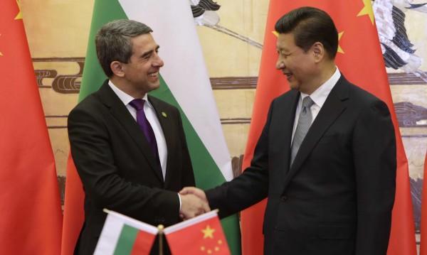 България и Китай ще развиват всестранно приятелско сътрудничество