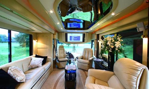 Най-луксозният хотел каравана в света