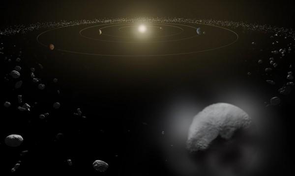 Откриха следи от вода около планетата джудже Церера