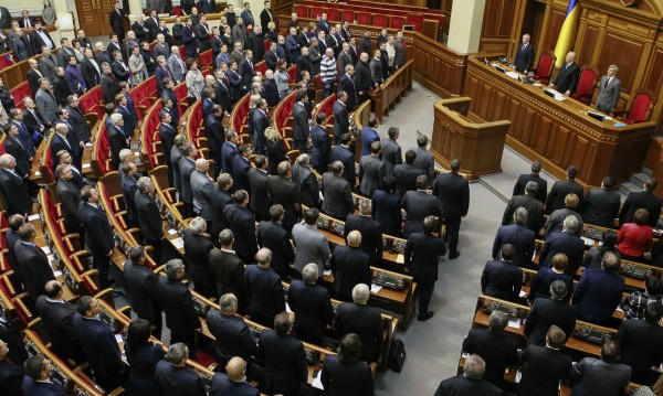 Украинският парламент отмени 9 от 12-те закона срещу протестите