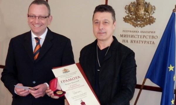 "Георги Христов отличен със ""Златен век"""