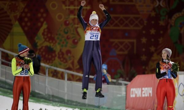 Карина Фогт със злато в ски-скока на нормална шанца