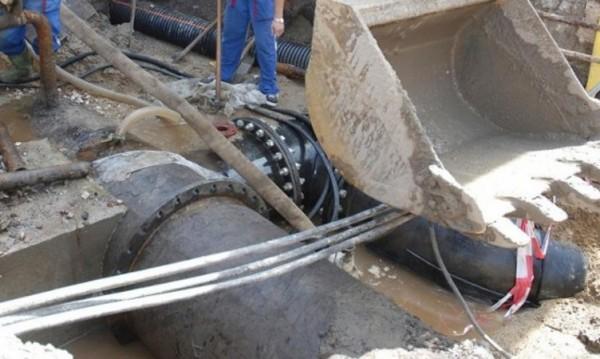 Авария спря водата в района на Южната дъга на Околовръстното