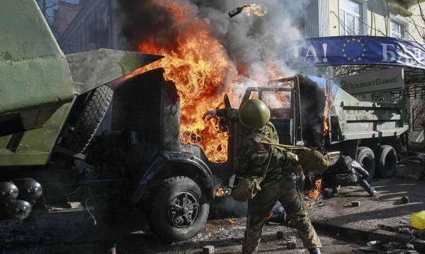 Трима убити и 150 ранени в Киев