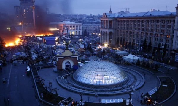 28 са вече жертвите на сблъсъците в Киев