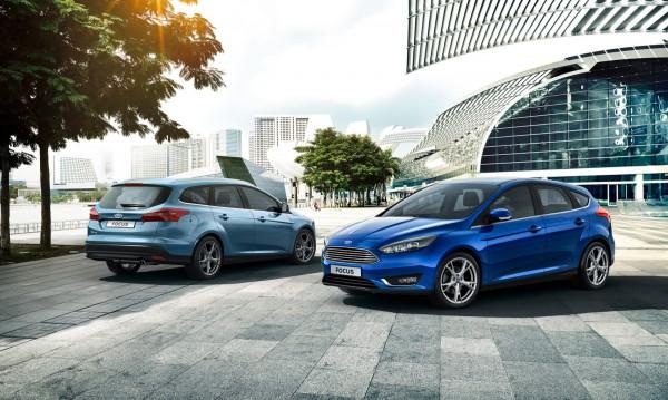 Ford представи обновения Focus