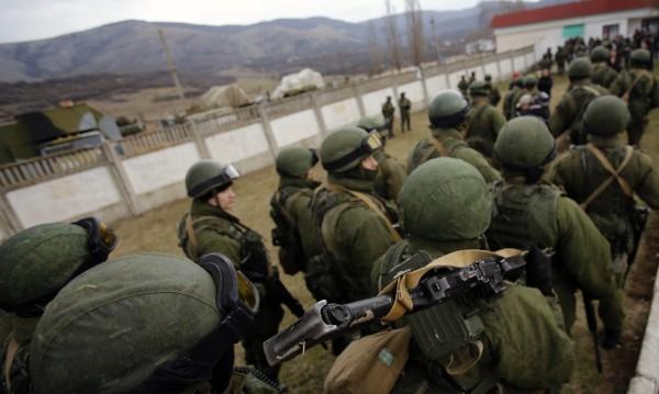 Украинци не допуснали руски военни до частта им в Балаклава