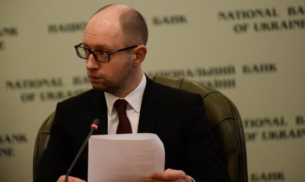 Яценюк за дипломатическо решение на кризата