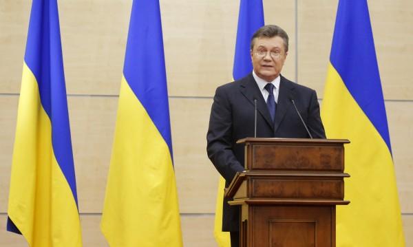 Янукович от Русия: Опитват се да разпалят гражданска война!