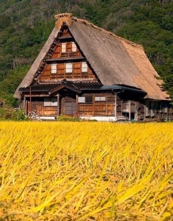 Най-красивите села в Япония