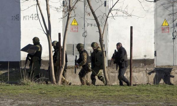 Атака срещу украински войници в Симферопол