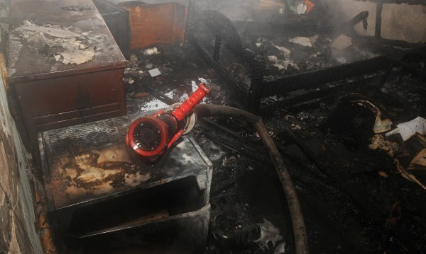Мъж почина при пожар в барака в Поморие
