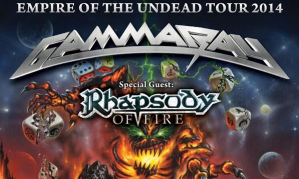 Без пияни фенове на Gamma Ray и Rhapsody of Fire