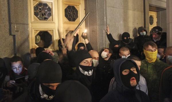 """Искат забрана на """"Десен сектор"""" в Украйна"""