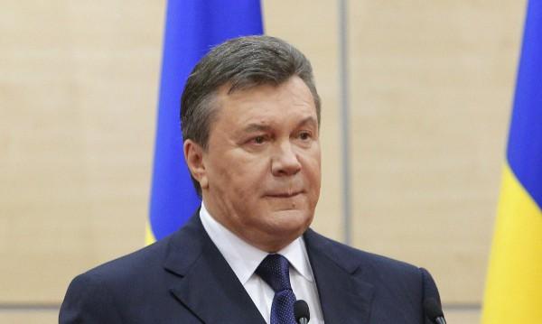 Анексията на Крим от Русия е трагедия, оцени Янукович