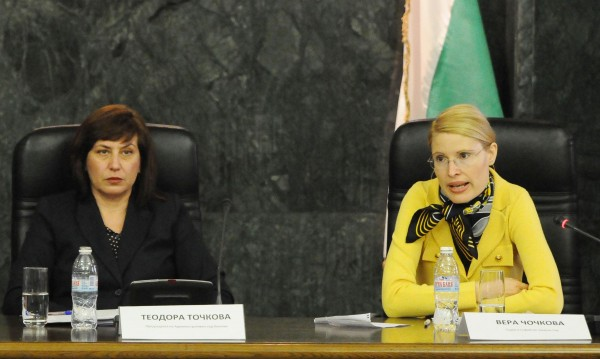Чочкова и Точкова в битка за главен съдебен инспектор