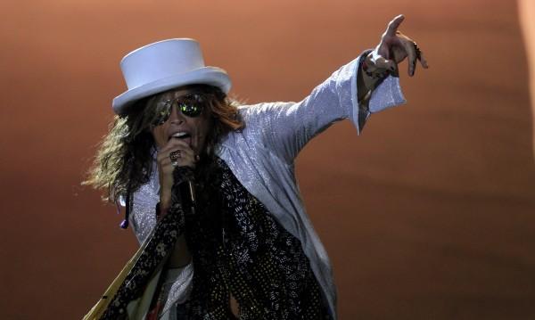 Специална организация за концерта на Aerosmith