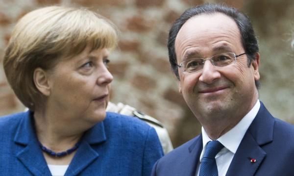 Меркел и Оланд: Референдумът в Източна Украйна е незаконен