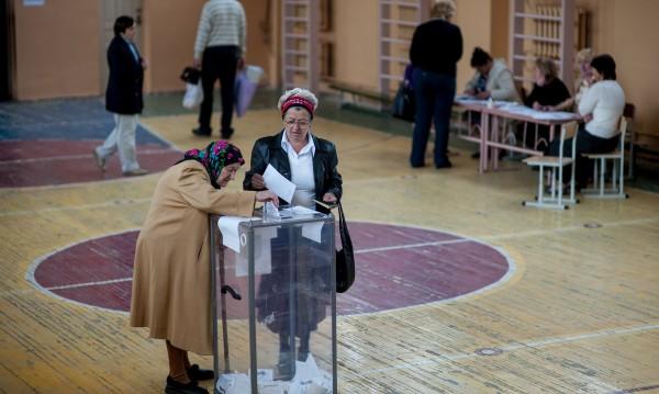 Висока е избирателната активност в Донецка област