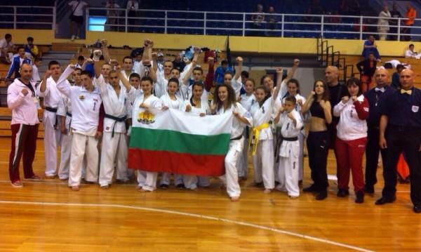 21 медала за националите по карате киокушин от Европейското първенство в Гърция
