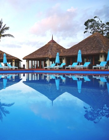 Хотелският рай в Тихия океан