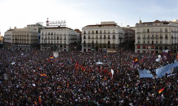 Хиляди испанци демонстрираха в Мадрид срещу монархията