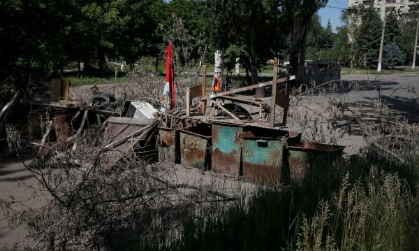 Четирима убити при артилерийски обстрел на украинските сили в Славянск