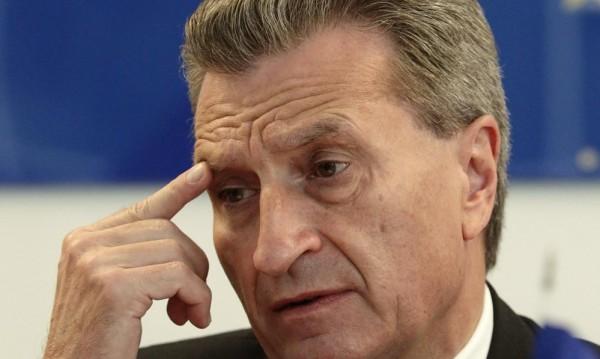 "ЕК може да подкрепи ""Южен поток"", заяви Йотингер"